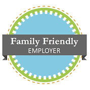 Family Friendly Employer certified by Bright Beginnins and Monerey Peninsula Chamber of Commerce