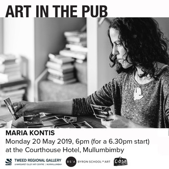 Art in the Pub - Maria Kontis Monday 20th May 2019