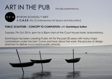Art in The Pub - Dominique Sutton - Tuesday 7th October