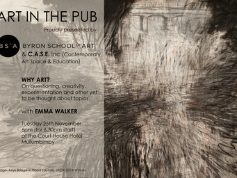 Art in The Pub -  Emma Walker  - Tuesday 25th November