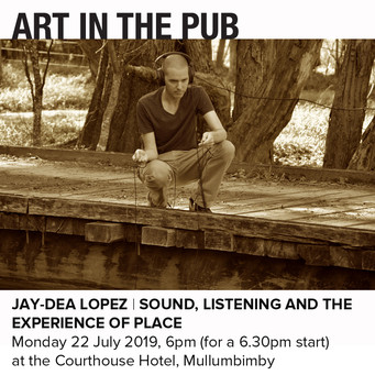 Art in the Pub - Jay-Dea Lopez Monday 22nd July 2019