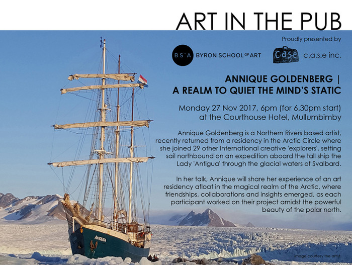 Art in the Pub - Annique Goldenberg  Monday 27th November 6pm for a 6.30pm Start