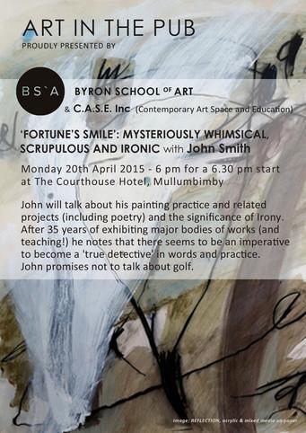 Art in The Pub - John Smith - Monday 20th April
