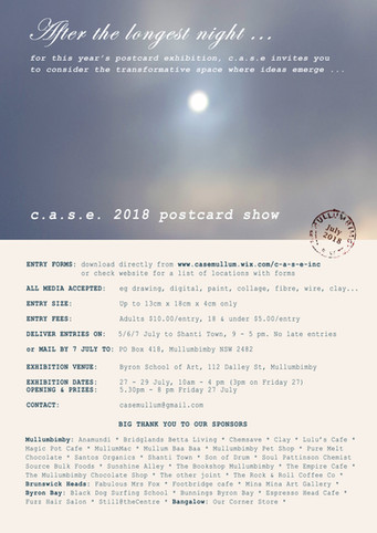 2018 postcard show launched