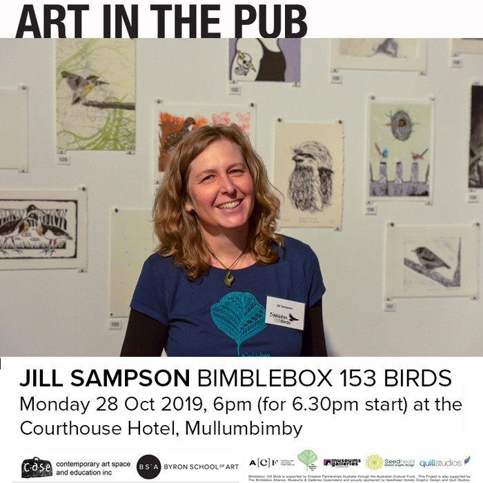 Art in the Pub -  Jill Sampson    Monday, 28 October, 2019