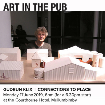 Art in the Pub - Gudrun Klix Monday 17th June 2019