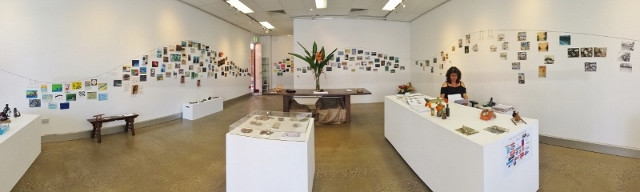 2015 Down by the River postcard show open - 3 days only