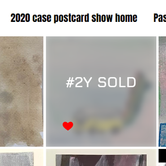 2020 case postcard show closes midnight Wednesday 29th July