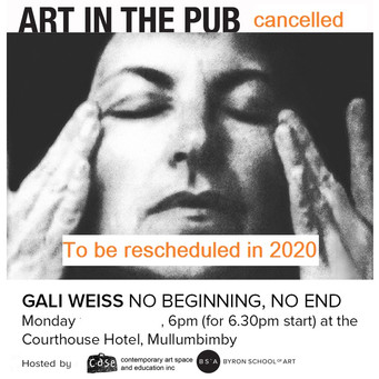 November Art in the Pub - Cancelled due to fire conditions 2019