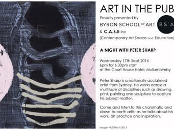Art in The Pub - Peter Sharp - Wednesday 17th September