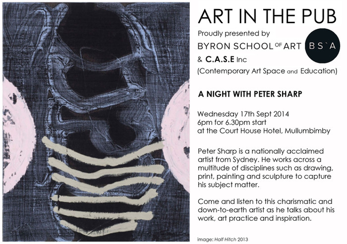 Art in The Pub - Peter Sharp - Wednesday 17th September