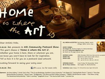 2014 postcard exhibition  Update 1