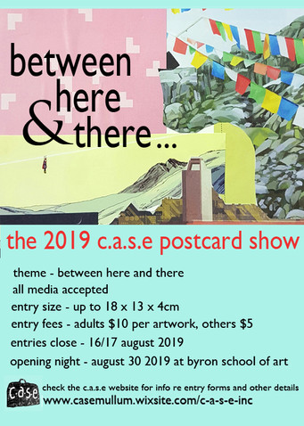 2019 c.a.s.e. postcard show counting down