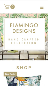 Online Store website templates – Home Accessories