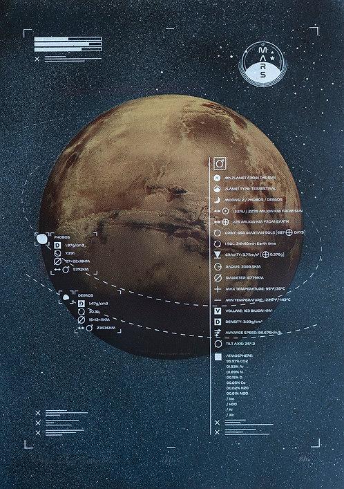 MARS - Limited Varied Edition 8/20