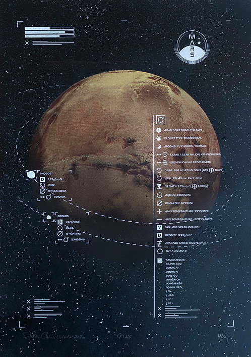 MARS - Limited Varied Edition 17/20