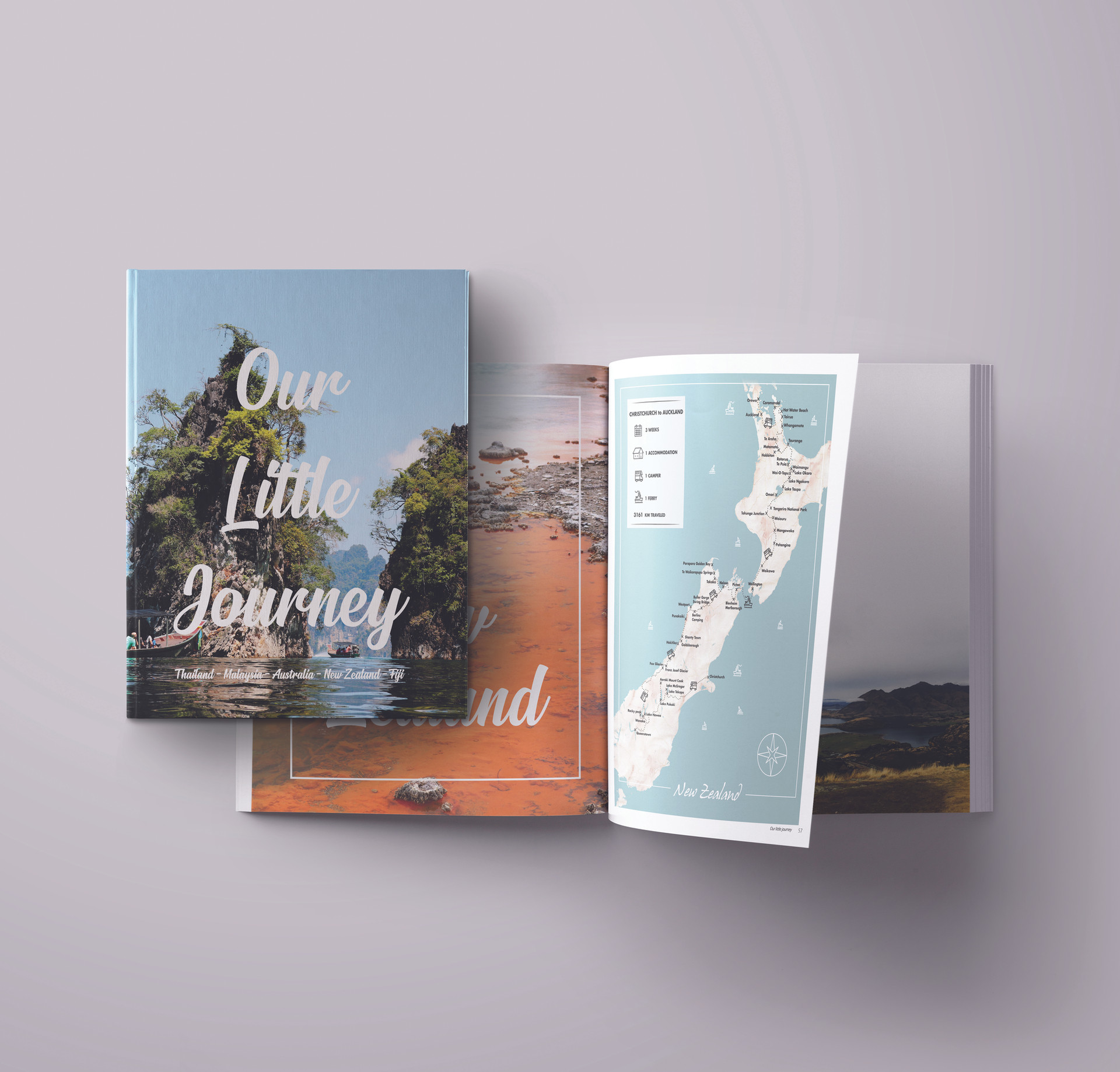 our little journey book