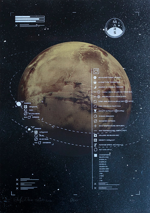 MARS - Limited Varied Edition 14/20