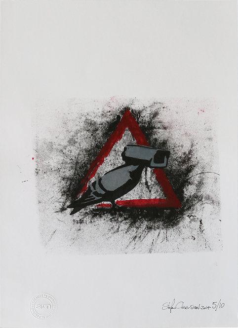 BECAREFULLCCTV - Limited Edition 5 of 10