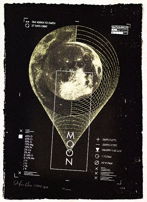 MOON - Limited Varied Edition 11/16