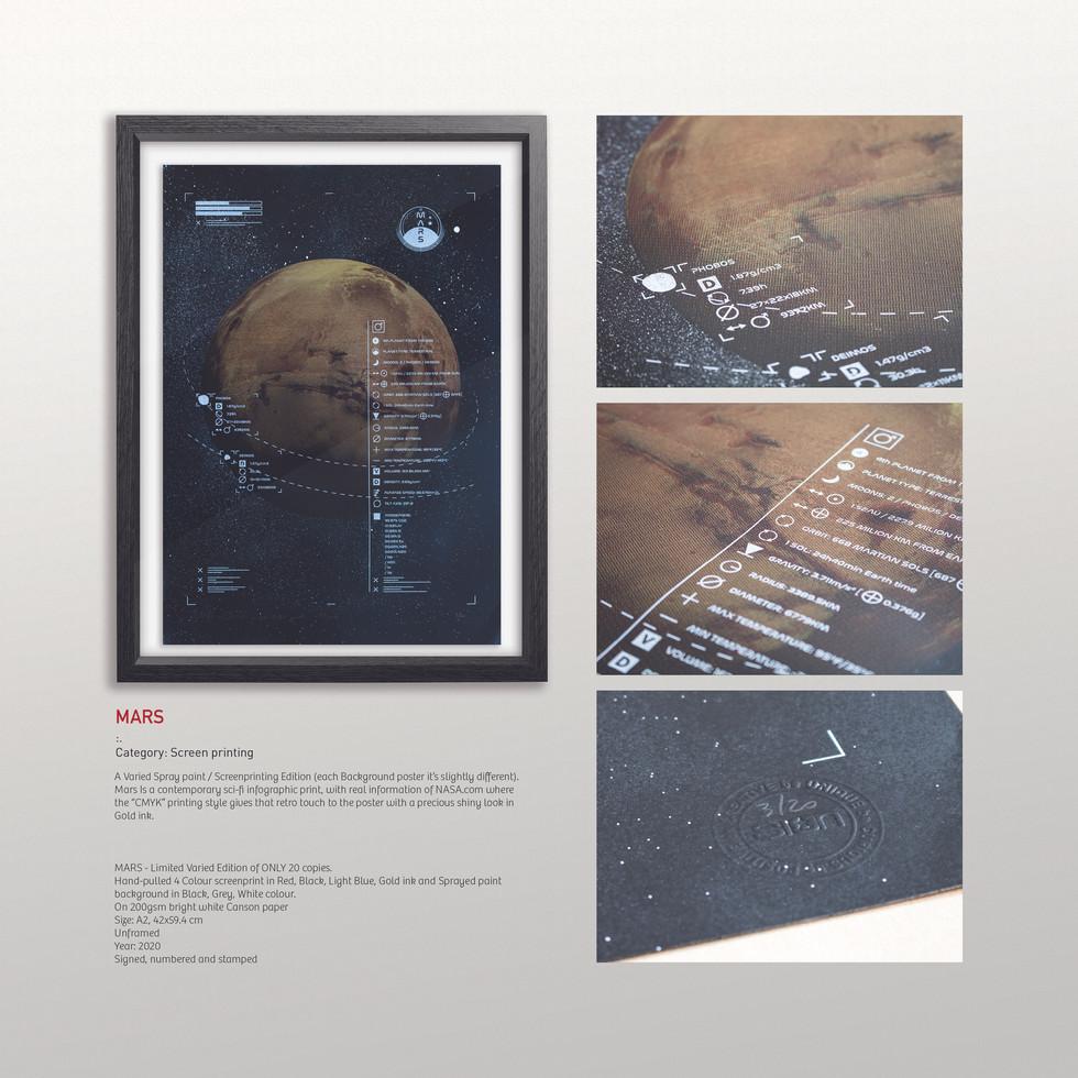MARS - Screen printing
