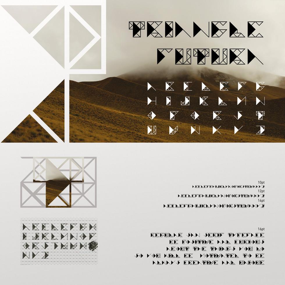 TRIANGLE FUTURA - Typeface