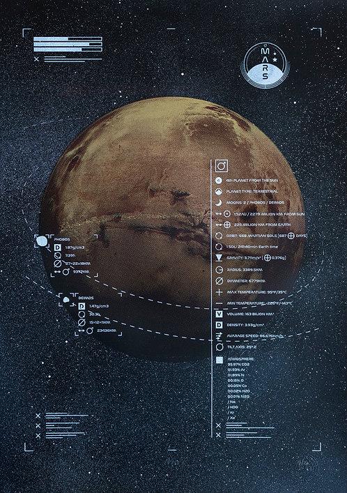 MARS - Limited Varied Edition 4/20