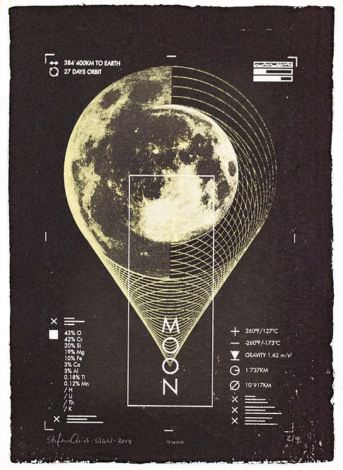 MOON - Limited Varied Edition 2/16