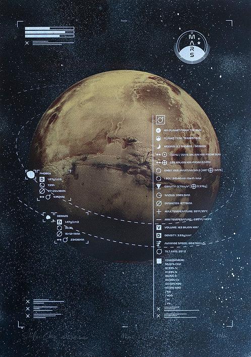 MARS - Limited Varied Edition 13/20