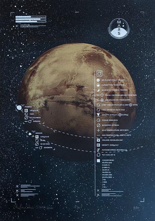 MARS - Limited Varied Edition 6/20