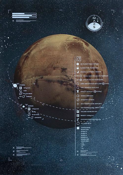MARS - Limited Varied Edition 7/20