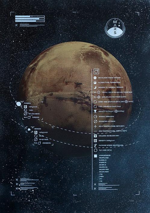 MARS - Limited Varied Edition 5/20