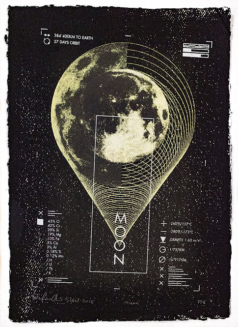 MOON - Limited Varied Edition 8/16