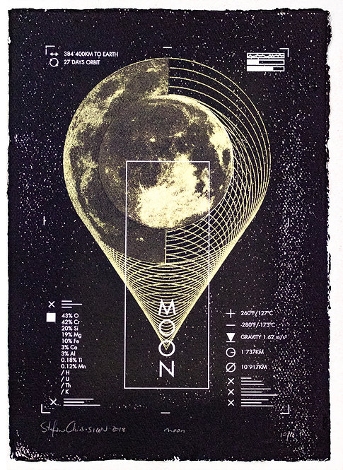 MOON - Limited Varied Edition 10/16