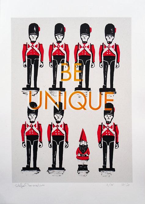 BE UNIQUE (orange variation) - Ed 14/20