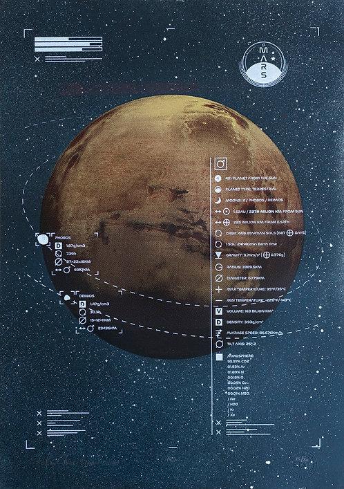 MARS - Limited Varied Edition 15/20