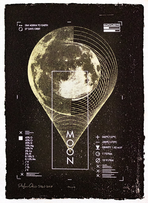 MOON - Limited Varied Edition 13/16