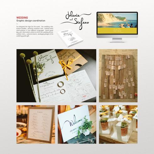 Wedding design coordination