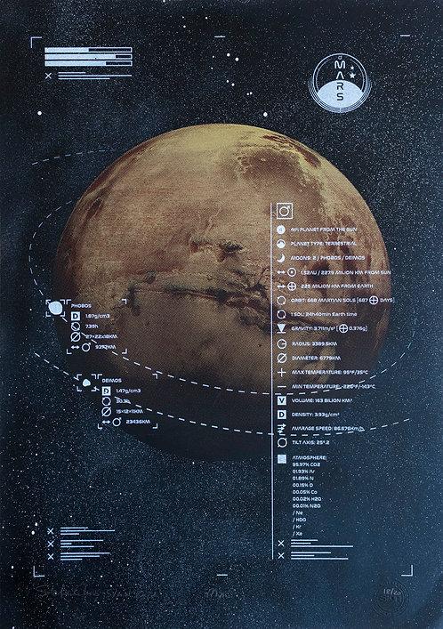MARS - Limited Varied Edition 18/20