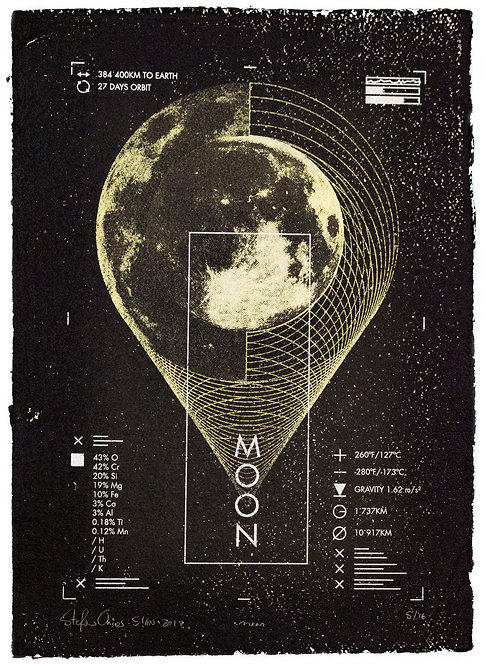 MOON - Limited Varied Edition 5/16