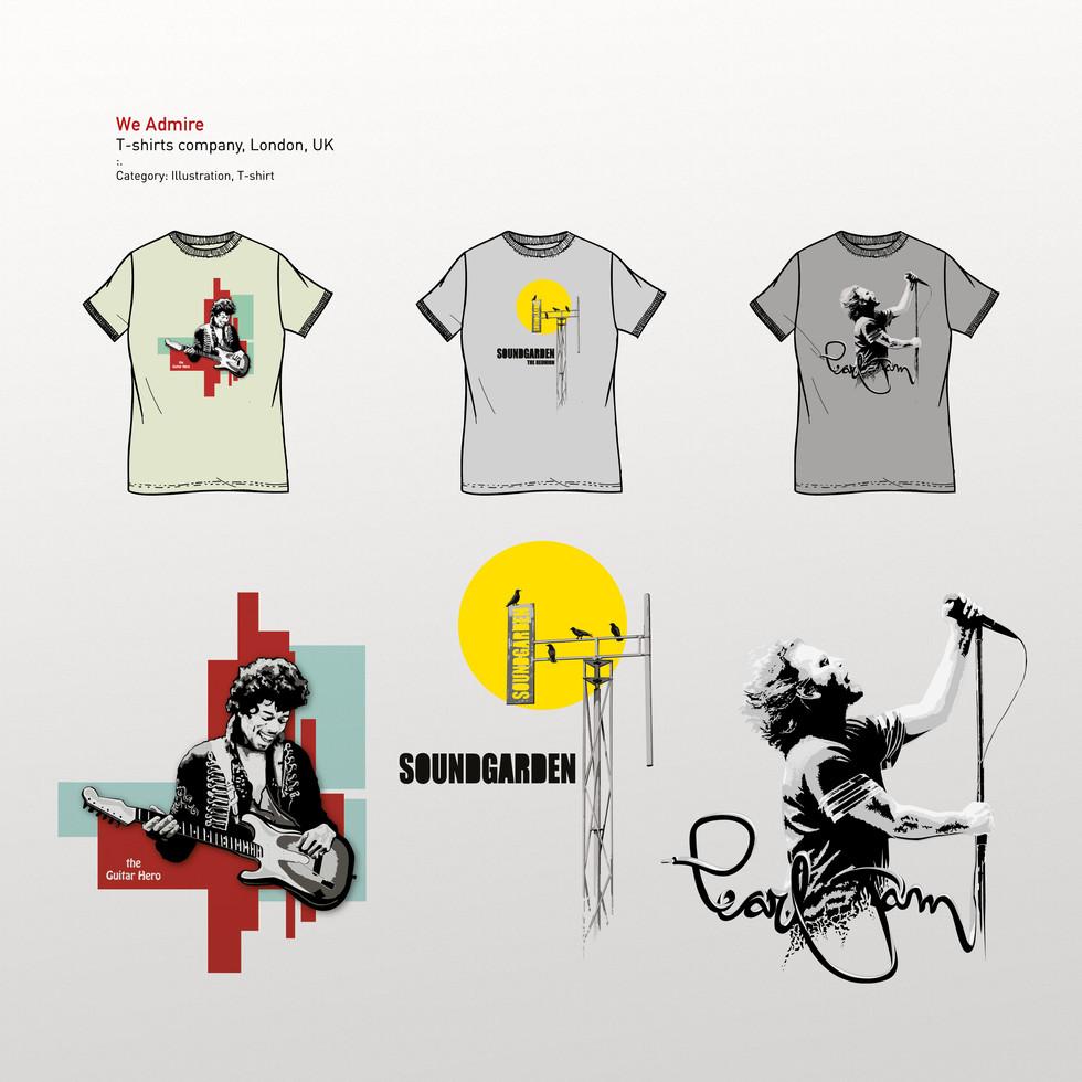 We Admire - Graphic Design