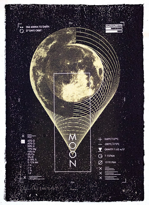 MOON - Limited Varied Edition 14/16