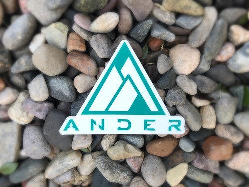 ANDER Sticker 4 x 4