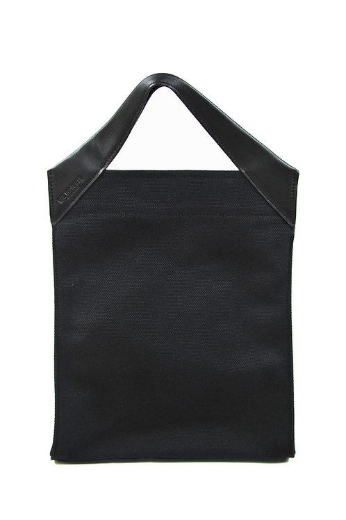 Paper Bag Classic Tote Black