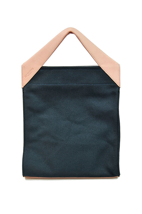 Paper Bag Classic Tote Navy