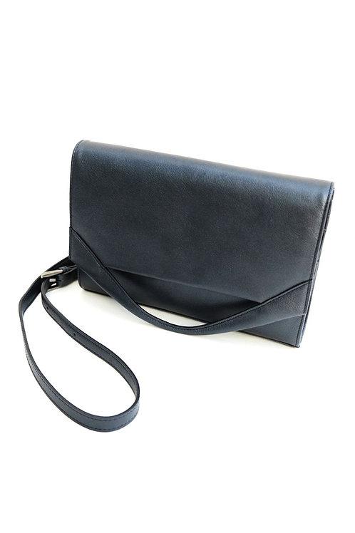 Paper Bag Wallet Black