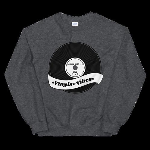 """Vinyls & VIbes"" Sweatshirt 0120"