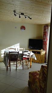 changement de place de la table depuis la photo