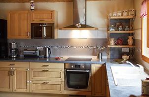 zoom sur une partie de la cuisine