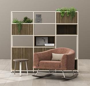 Eklund Chair & Lochlyn Divider